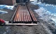 Стандартная  стальная Насосно Компрессорная Труба (НКТ) подходит к большинству насосов типа ЭЦВ производительностью 25-40 куб\метров воды в час.